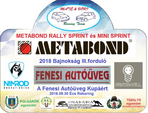 METABOND 2018 Bajnokság III. forduló – Fenesi kupa