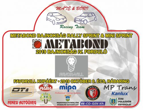 2019 Bajnokság IV.forduló Favor-vill 2019.10.06. Écs, Rábaring