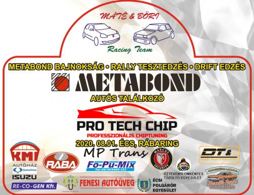 Pro-Tech Tesztedzés Rally Teszt és Drift edzés 2020.08.01. Écs, Rábaring