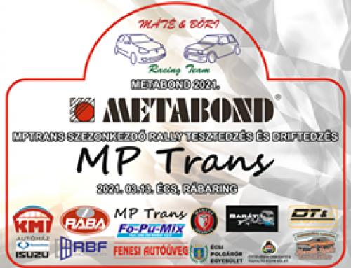 MP trans 2021 Szezonkezdő RALLY Teszedzés és DRIFT edzés 2021.03.13. Écs, Rábaring